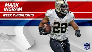 Download Mark Ingram's Big Day w/ 105 Yards & 1 TD! | Saints vs. Packers | Wk 7 Player Highlights Video