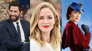 Download When John Krasinski First S.aw Emily Blunt As Mary Poppins, His Reaction Was Utterly Heartwarming Video