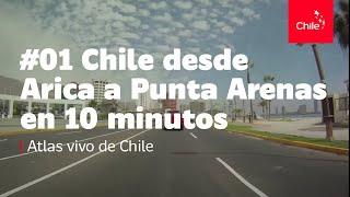 Download #01 Chile desde Arica a Punta Arenas en 10 minutos - Atlas vivo de Chile Video