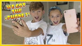 Download KAYLA AND TYLER GOT THE iPHONE 7! | WHAT ACCESSORIES DID THEY GET? | We Are The Davises Video