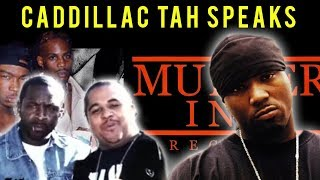 Download Caddillac Tah Speaks About The Downfall of Murder Inc, DMX and Ja Rule Feud and more Video
