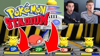 Download WHO WON? (Pokemon Stadium Minigames) Video