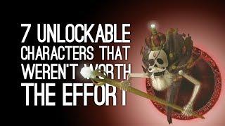 Download 7 Unlockable Characters That Weren't Worth the Effort Video