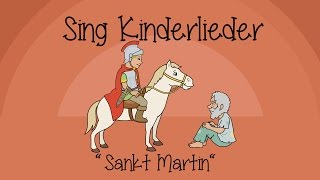 Download Sankt Martin - Kinderlieder zum Mitsingen | Sing Kinderlieder Video