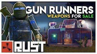 Download Running a GUN SHOP in a WARZONE - Rust Gun Runners Video