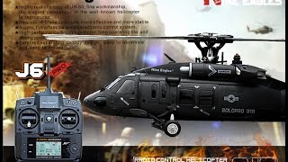 Download ec-hobby, RTF UH-60 Blackhawk Realistic RC Helicopter, nine eagles solo pro 319, 6 ch helicopter Video