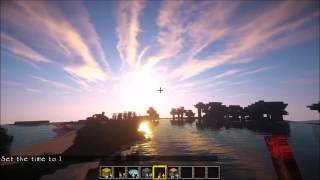 Download Photorealistic Minecraft! Shaders + HD Texture Pack + Physics Mod (GTX 760) Video
