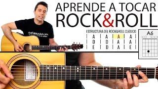 Download Aprende a tocar Rock & Roll en guitarra! paso a paso y muy fácil! tutorial Video