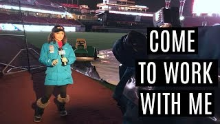 Download Behind the Scenes as a TV News Reporter | COME TO WORK WITH ME Video