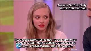 Download Amanda Seyfried and Thomas Sadoski, ″The View″ 22.05 (Rus Sub) Video