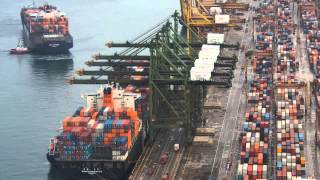 Download Singapore Container Terminal Video