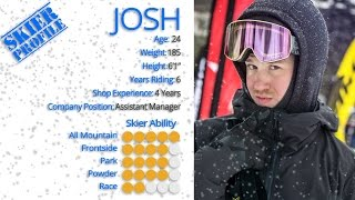 Download Josh's Review-K2 Marksman Skis 2017-Skis Video