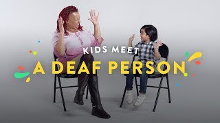 Download Kids Meet A Deaf Person Video