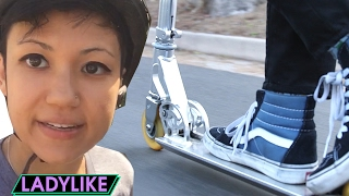 Download Women Ride Scooters Everywhere For A Day • Ladylike Video