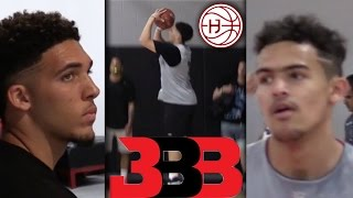 Download LiAngelo Ball & Trae Young the BEST Shooters in Highschool? BILAAG Practice Highlights Video