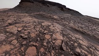 Download NASA's Curiosity Mars Rover Looks Back on Murray Buttes (360 View) Video