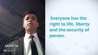 Download UDHR Video Article 3 English kashif qadir Video