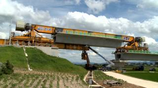 Download 호남고속철도 제3-3공구 만경강교 - PSM 공법 Video
