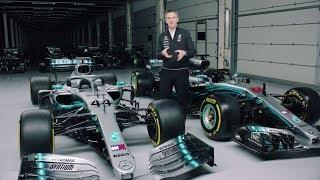 Download 2019 vs 2018 Mercedes F1 Car Explained! Video