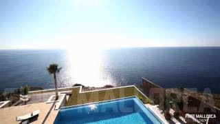 Download FIRST MALLORCA TV - Ref.52484 EXCEPTIONAL FRONTLINE LUXURY VILLA WITH SENSATIONAL SEA VIEWS Video