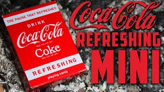 Download Deck Review - Bicycle Coca-Cola Refreshing Playing Cards Mini [HD] Video