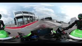 Download Kawasaki xtreme Motorcycle race in VR 360° - part 1 Video