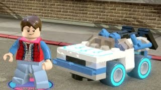 Download LEGO Dimensions - Back to the Future Adventure World - All Restorations and Races Completed Video