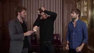 Download The Riot Club: Beer Pong with Sam Claflin, Max Irons, and Douglas Booth Video