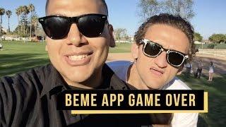 Download Beme App is GAME OVER 😔 @digitald0m Video