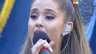Download Ariana Grande performing the National Anthem at the Seattle Seahawks game - NFL Football [HD] Video