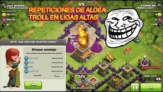 Download ¡ TROLLEADA EN LIGA MAESTRA ! REPETICIONES TH8 TROLL-clash of clans Video