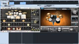 Download Joe Barresi EVIL DRUMS BFD Vs Superior drummer review Video
