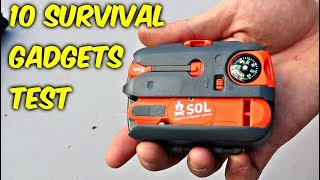 Download 10 Survival Gadgets put to the Test - part 2 Video