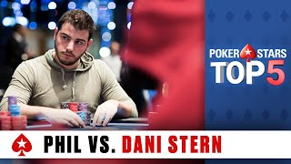 Download Top 5 Poker Moments - Phil Hellmuth vs. Dani Stern | PokerStars Video