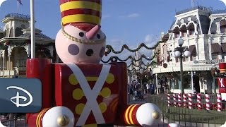 Download Time-Lapse: Magic Kingdom Park Decorated for the Holidays Video