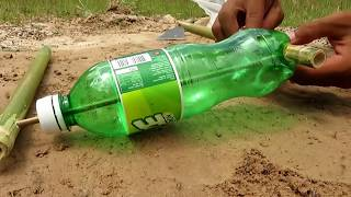 Download Primitive Technology: Simple DIY Bird Trap Make from IZE bottle That Work 100% By Smart Boy Video