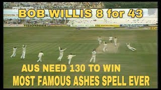 Download 1981 Headingley Impossible win - Bob Willis 8/43 - Most famous Ashes spell ever! Video