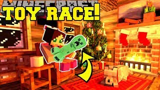 Download Minecraft: TOY COLLECTING RACE!! (FIND THE MOST TOYS!!) - Christmas Collecting - Custom Map Video