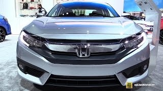 Download 2017 Honda Civic Touring - Exterior and Interior Walkaround - 2017 Detroit Auto Show Video