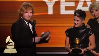 Download Ed Sheeran | Song of the Year | 58th GRAMMYs Video
