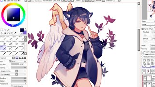 Download 【SAI】Mabinogi Character Speedpaint Video
