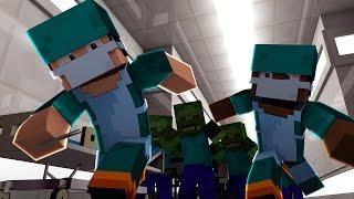 Download Minecraft   Good vs Evil - ZOMBIE HORDE ATTACKS! (Doctors vs Zombies) Video