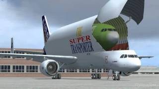 Download AIRBUS - A Day at Hamburg FSX Video