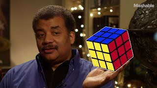 Download Neil deGrasse Tyson on solving the Rubik's Cube Video