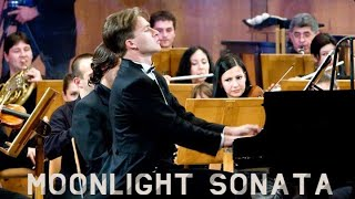 Download Beethoven - Moonlight Sonata | Piano & Orchestra Video