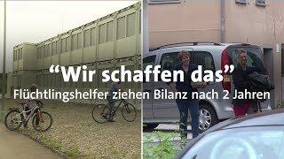 Download ″Wir schaffen das″: Flüchtlingshelfer ziehen Bilanz Video