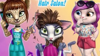 Download Fun Animals Care & Pet Makeover - Amy's Animal Hair Salon - Dress Up Game for Kids Video