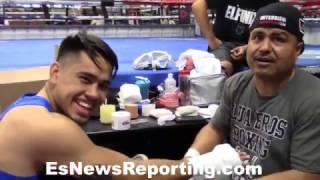 Download Big G and Robert Garcia on Misael Rodriguez - EsNews Boxing Video