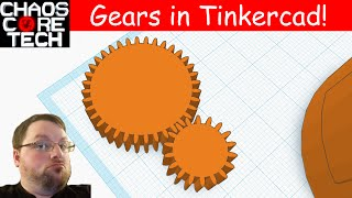 Download How to Make Gears in Tinkercad! Video