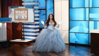 Download Ellen Plays 'What's in the Box?' with Guest Model Demi Lovato Video